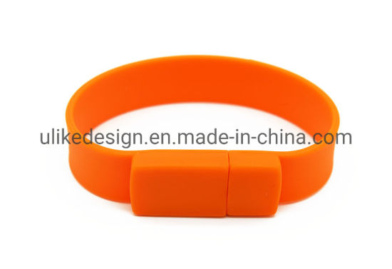 Promotion Gift Customized 4GB 8GB 16GB Wristband USB Bracelets USB Flash Drive