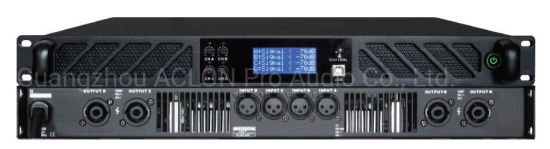 Professional PRO Audio 4 Channel 600W Professional DSP Power Amplifier (DV4600)