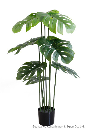 Best Quality Real Touch Artificial Monsteras Leaves Plants Plastic Monstera Plants