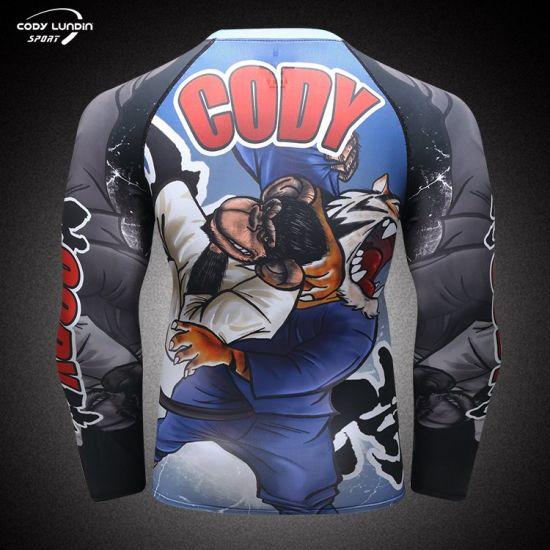 Cody Lundin Custom Dry Fit Sports Wear Gym Training Running Athletic Clothing Navy Blue T Shirt for Men