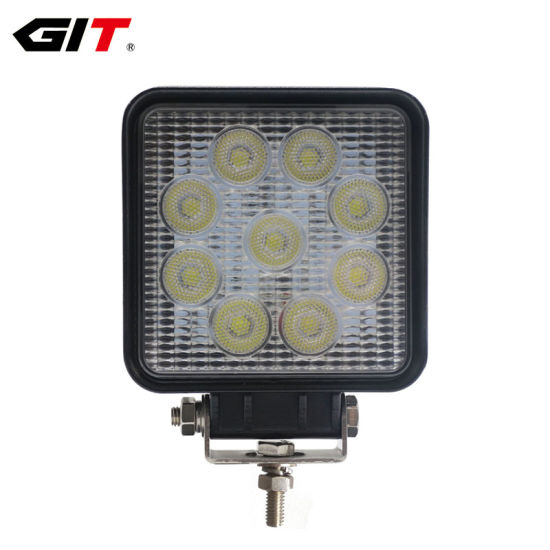 12V 24V 18W 1200LM LED Work Light Lamp For SUV Car Truck Tractor Boat Universal