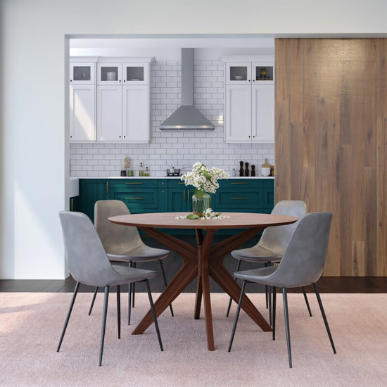 Factory Direct Sale Modern Dining Table Chairs Dining Room Set