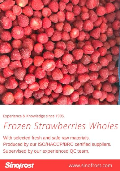 IQF Whole Strawberry, IQF Strawberries Wholes, Frozen Strawberry, IQF Strawberry, Frozen Sliced Strawberries with Sugar, Frozen Whole Strawberries in Sugar