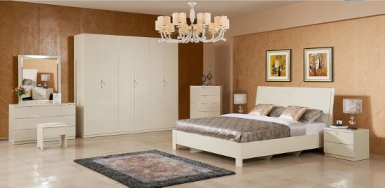 China Modern Simplicity Bedroom Furniture Set For Sale China Bed Wardrobe