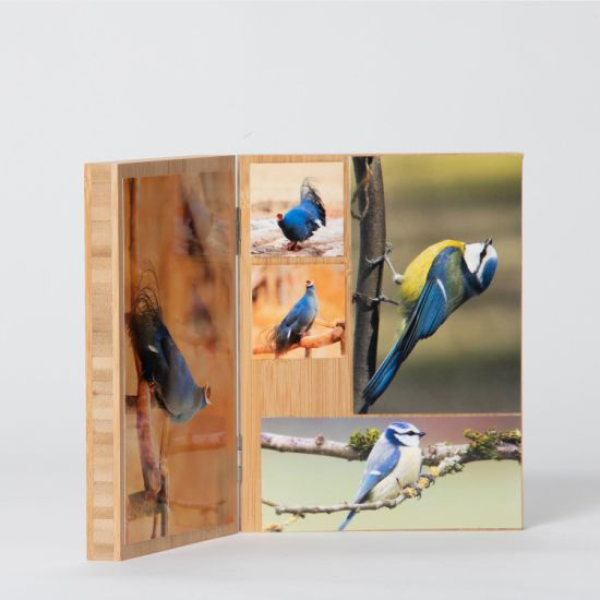 Wholesale Bamboo Picture Photo Frame for Family Gift