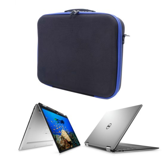 Laptop Briefcase EVA Case Business Computer Bag Large Capacity Laptopbag Storage Box