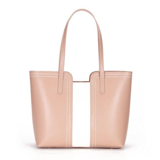 2020 Europe Style Contrast Color Ladies Tote Handbags