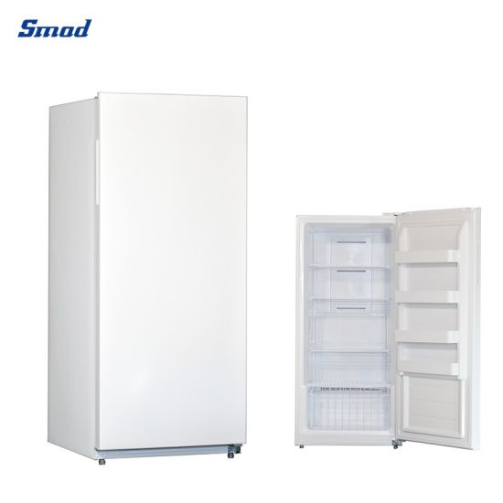 Smad 13.8 Cuft 110V Single Door Upright Vertical Freezer for Home Kitchen