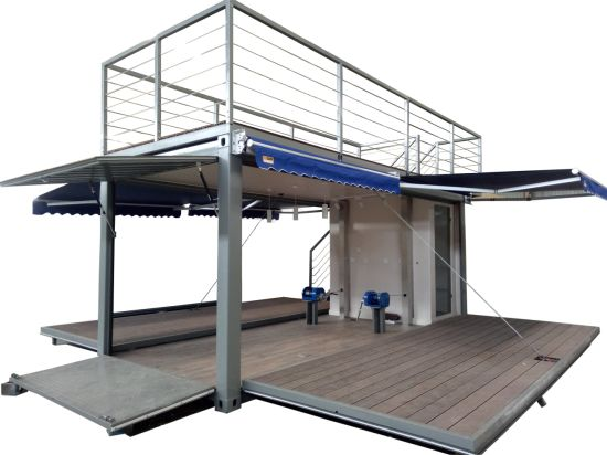 Restaurant/Modular Mobile Shipping Prefab Prefabricated Container House for Shop