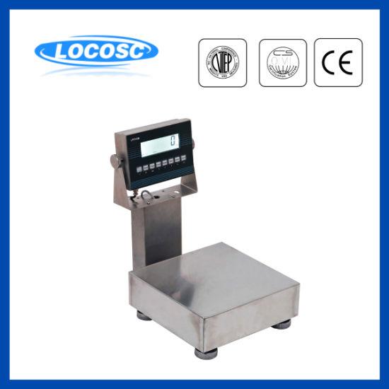 Lp7610W IP68 Stainless Steel Waterproof Washdown Electronic Weighing Scale 150kg