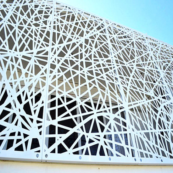2.0mm Aluminum Solid Panel Laser Cutting Aluminum Caved Panel