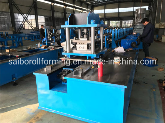 Sigma Purlin Roll Forming Machine Thickness 44.0mm with Gear Box Drive