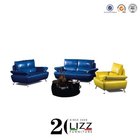 Colorful Leather Sofa Furniture