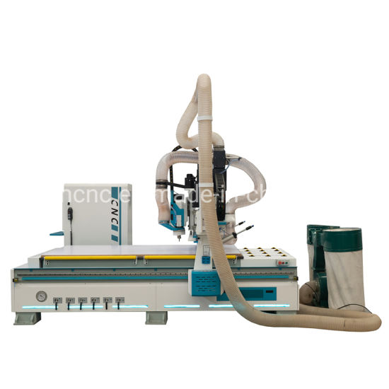 4X8 FT Automatic 3D Wood Carving Machine for Composite MDF Kitchen Cabinet Furniture