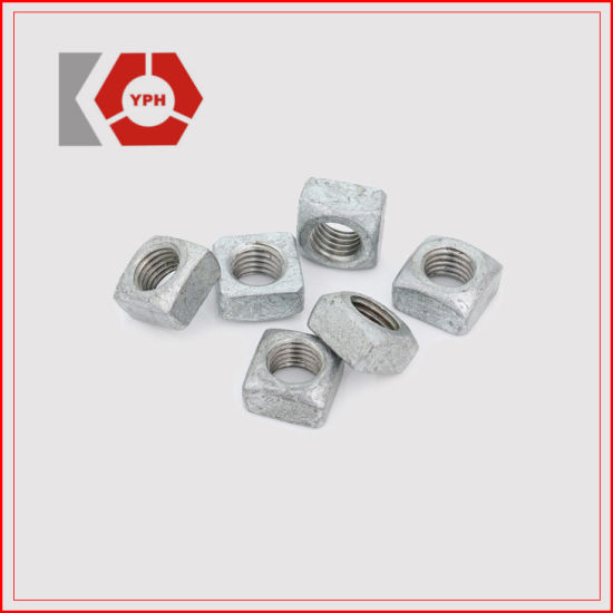 High Strength Carbon Steel Square Nuts Wholesale