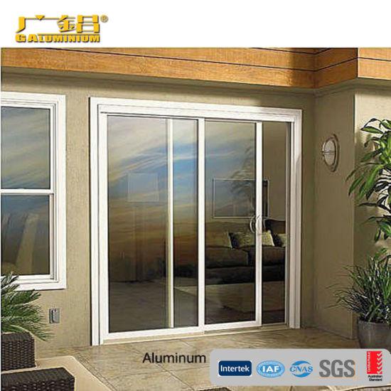 Double Glass Panel Aluminium Sliding, Patio Panels Sliding Doors