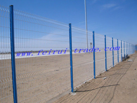 China Utility Hot Dipped Galvanized Welded Wire Mesh 3D Fence Panels ...