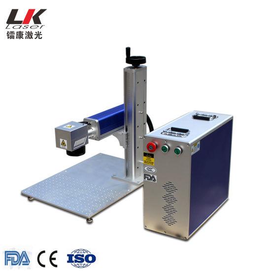 Wholesale Fiber Metal Laser Marking/Engraving Machine