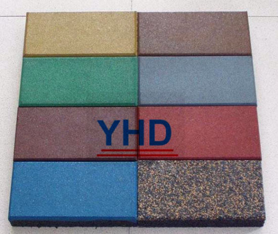 Puzzle Type Playground Rubber Tiles pictures & photos