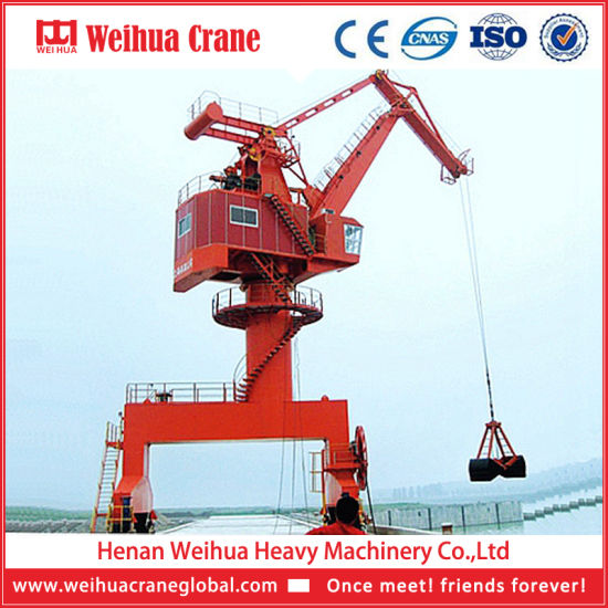 Customized Port Movable Container Crane, Port Crane pictures & photos