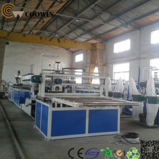 WPC Profile Production Line WPC Machinery Manufacturer pictures & photos