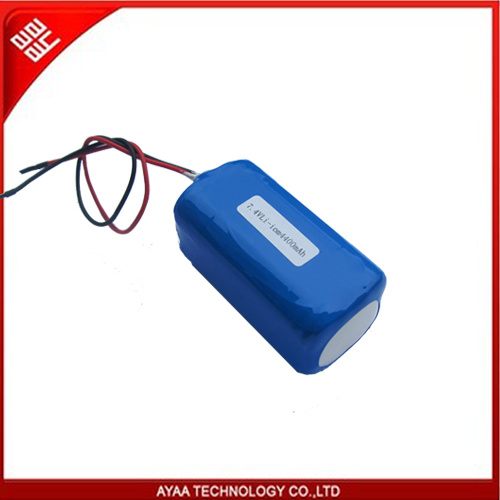 Rechargeable Li-ion Battery Pack 7.4V/4.4ah with PCM 2.5A pictures & photos