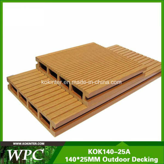 WPC Factory Wholesale Cheap WPC Co-Extrusion Decking WPC Flooring WPC Wall Panel pictures & photos