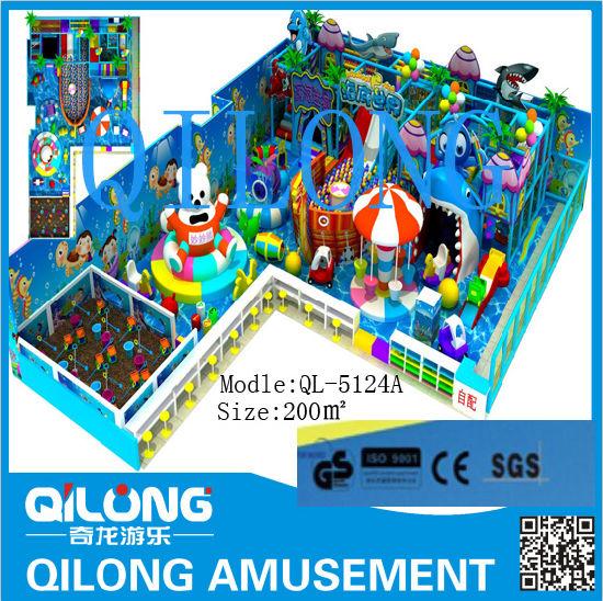 Ocean Theme for Kids Playground (QL-5124A)