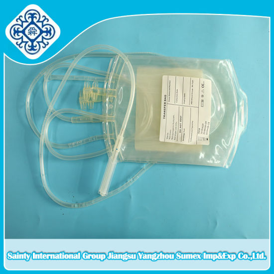 Single Type Sterile Blood Bag with Ce & ISO pictures & photos