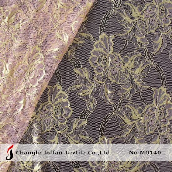 Dress Fabric Tulle Swiss Lace Fabric Bridal Lace (M0140)