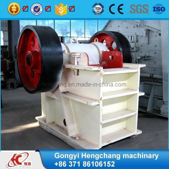 ISO Quality Approved PE400X600 Jaw Crusher Stone Jaw Crusher