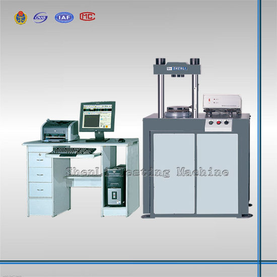 Electro-Hydraulic Servo Compression Testing Machine (600kN) pictures & photos
