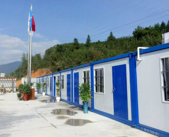 Easy Installation Folding Prefabricated Container Modular House for Worker