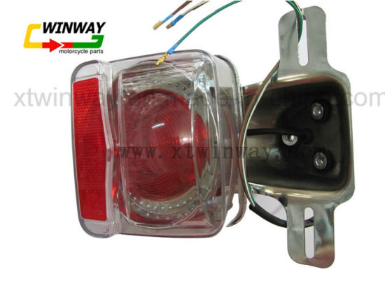 Ww-7107 Cg125 Motorcycle Parts Brake Rear Back Tail Light