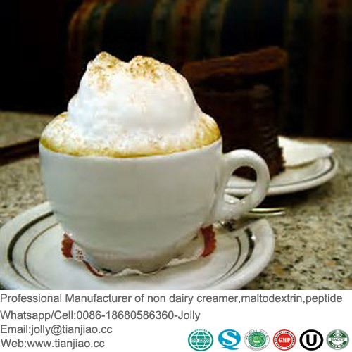 Super Cappuccino Foaming Coffee Creamer with Halal Approved