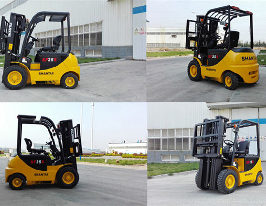 2 Ton Battery Forklift with DC Motor pictures & photos