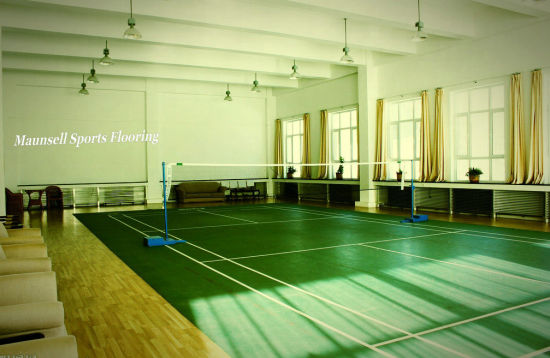 The Manufacturer of Cheap Indoor PVC Sports Flooring for Badminton Courts 2017 Hot Sale pictures & photos