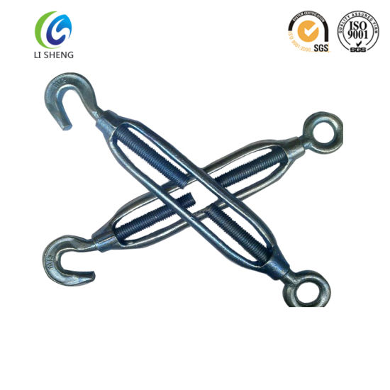 JIS Type Heavy Duty Wire Rope Turnbuckle pictures & photos