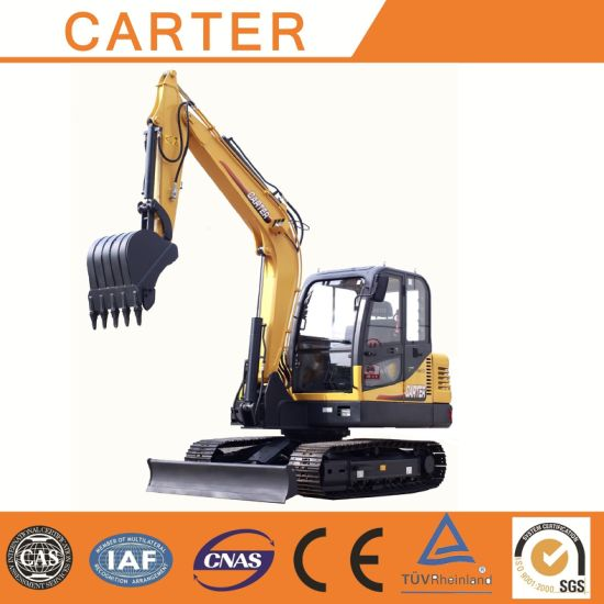 CT60-8biii (Yanmar engine&6t) Multifunction Hydraulic Backhoe Excavator pictures & photos
