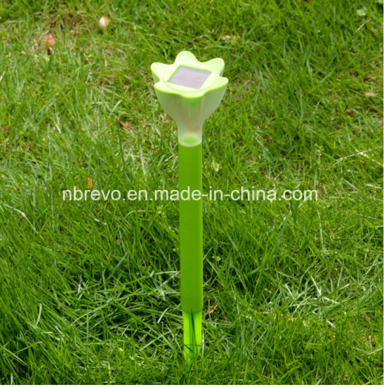 Solar Garden Flower Stake Light for Decoration (RS008) pictures & photos