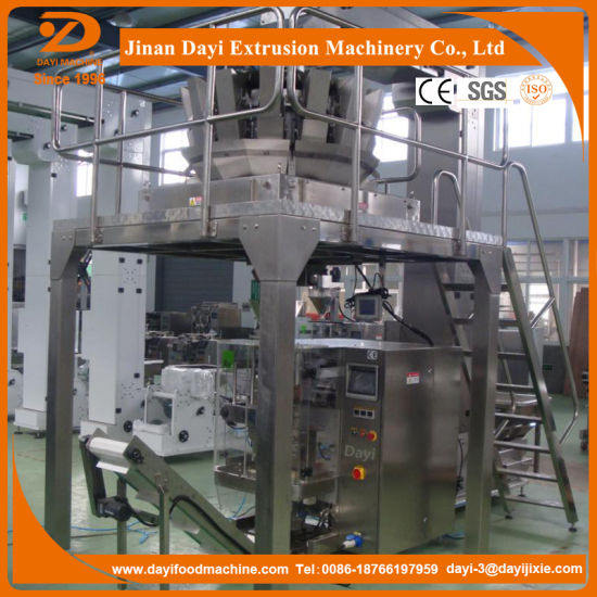 Corn Curls/Kurkure/Cheetos/Corn Grits Food Extruder Machine and Processing Line with Packing Machine pictures & photos