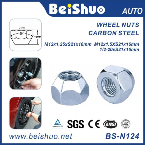 Vehrcle Wheel Nut Automotive Nuts