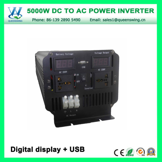 off Grid 5000W High Frequency Solar Power Inverter (QW-M5000) pictures & photos