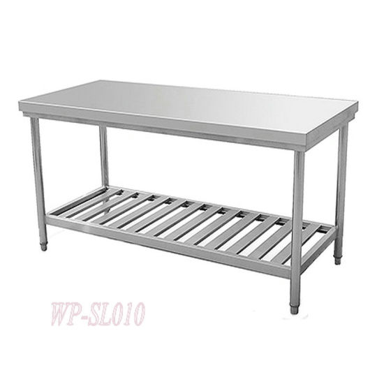 China Two Layers Stainless Steel Detachable Kitchen Working ...