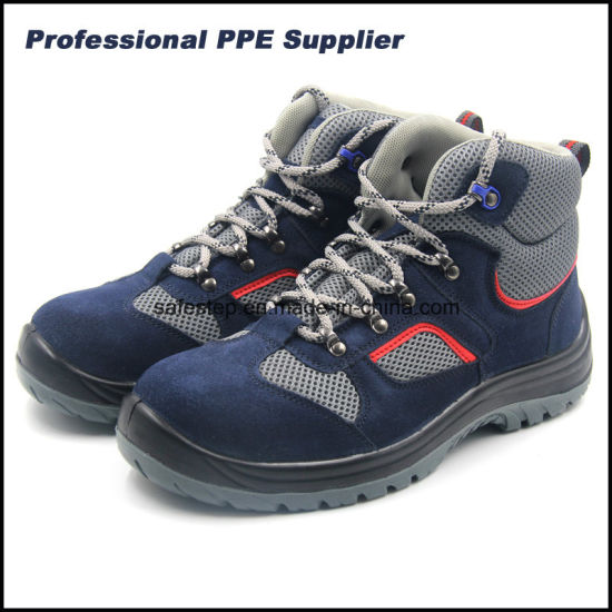 S1p Suede Leather Wholesale Work Boots 20345