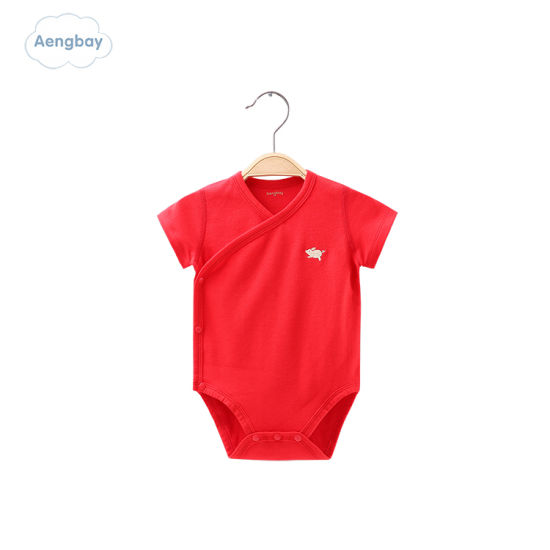 100% Cotton Short Sleeve New Baby Cut Baby Clothes