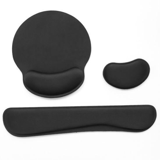 Memory Foam Keyboard Wrist Rest Mouse Pad Wrist Support Ergonomic Design for Office Home Office Laptop Desktop Computer