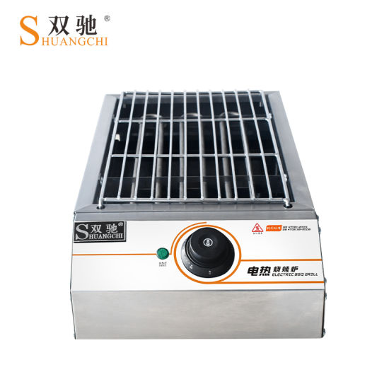 Electric BBQ Grill Roaster Baking Machine Home Use Barbecue Grill pictures & photos
