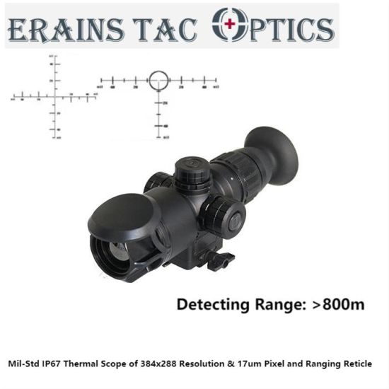 Mil-Std Over 800m Long Range Detecting Military Style Night Vision Hunting Thermal Sight Rifle Scope