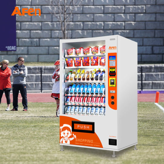 Afen Snack and Bottle Combo Automatic Vending Machine for Sale Combination Vendor Machine